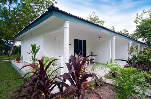 Terrasse, Veranda, Doppelzimmer, Equator Village