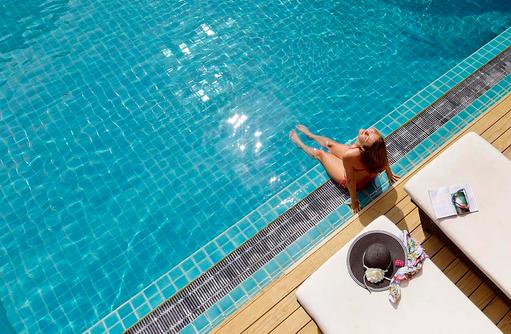 Swimmingpool, Model, smartline Eriyadu, Maldives