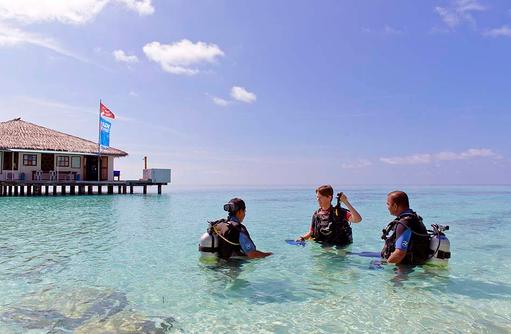Tauchen, Instruktion, smartline Eriyadu, Maldives