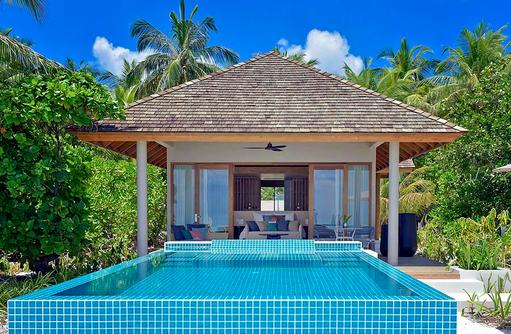 Beach Retreat with Pool, Faarufushi Maldives