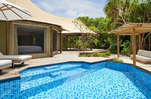 Pool Tented Villa, Fairmont Maldives Sirru Fen Fushi