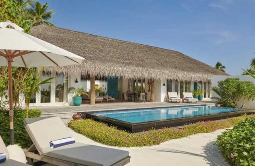 Three Bedroom Beach Villa, Fairmont Maldives Sirru Fen Fushi