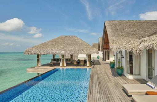 Three Bedroom Water Villa, Fairmont Maldives Sirru Fen Fushi