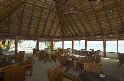 Restaurant, Fihalhohi Island Resort, Maldives