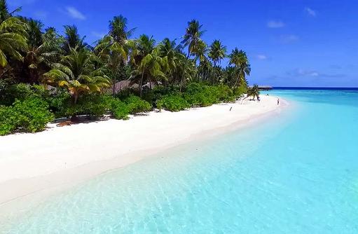 Traumstrand, Filitheyo Island, Malediven
