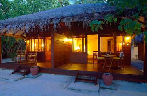 Aussenansicht Superior Villa, Filitheyo Island, Malediven