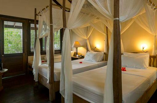 Twin Beds, getrennte Betten, Superior Villa, Filitheyo Island, Malediven
