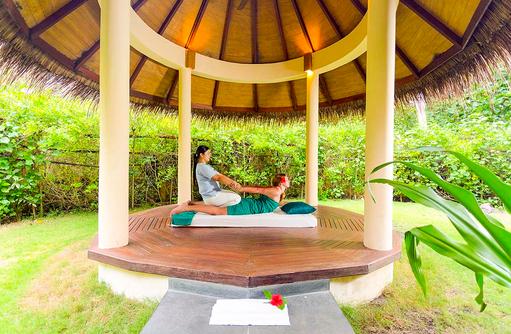 Massagepavillion, Filitheyo Spa, Filitheyo Island, Malediven