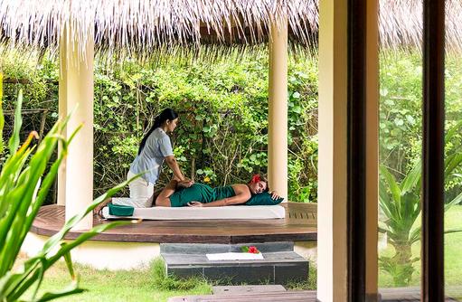 Massage, Filitheyo Spa, Filitheyo Island, Malediven