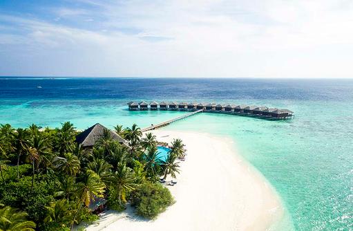 Panorama Filitheyo Island, Malediven