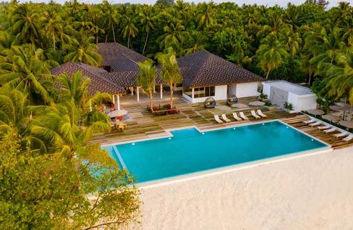 Pool Aerial, Fiyavalhu Maldives