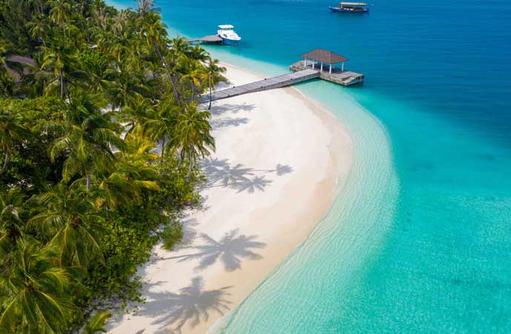 Arrival Jetty, Fiyavalhu Maldives