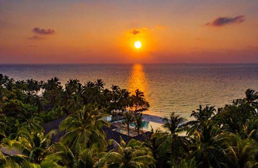 Sunset, Fiyavalhu Maldives