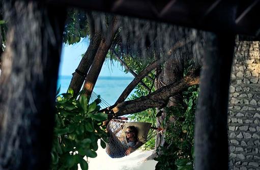 Hängematte am Strand, Four Seasons Resort Maldives at Landaa Giraavaru