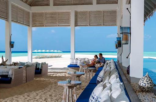 tropische Cocktails in der Blu Bar, Four Seasons Resort Maldives at Landaa Giraavaru
