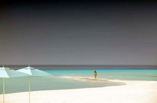 Strandspaziergang, Four Seasons Resort Maldives at Landaa Giraavaru