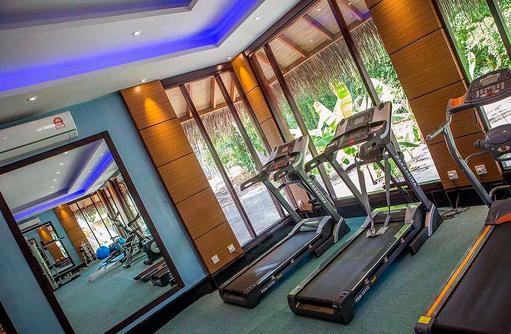 Laufgeräte, Gym, Furaveri Island Resort & SPA, Maldives