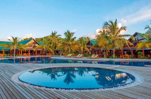 Runder Pool, Furaveri Island Resort & SPA, Maldives