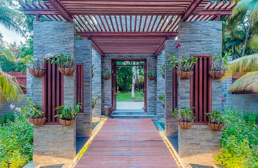 Eingang Spabereich, Furaveri Island Resort & SPA, Maldives