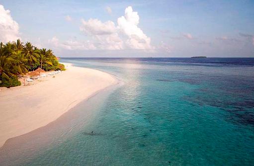 Langer Sandstrand, Furaveri Island Resort & SPA, Maldives