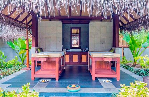 Massageliegen, Furaveri Island Resort & SPA, Maldives