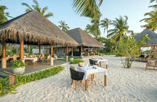 Restaurant Raakani, Grillrestaurant, Fisch und Fleisch, Seafood, Fushifaru Maldives