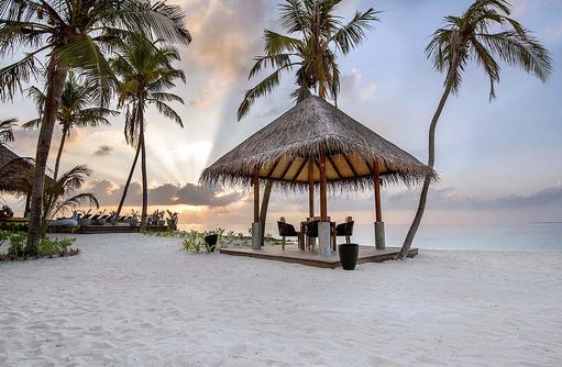 Restaurant Raakani, Grillrestaurant, privater Pavillion, Fushifaru Maldives