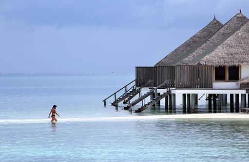 Overwater Villas, Meerzugang, Gangehi Island Resort, Maldives