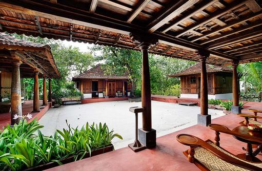 Ginger Spa, Garten, Aussenbereich, Gangehi Island Resort, Maldives