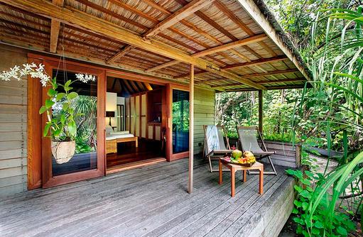 Garden Villa, Terrasse, Gangehi Island Resort, Maldives
