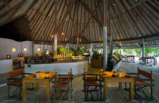 Hauptrestaurant, Gili Lankanfushi, Maldives