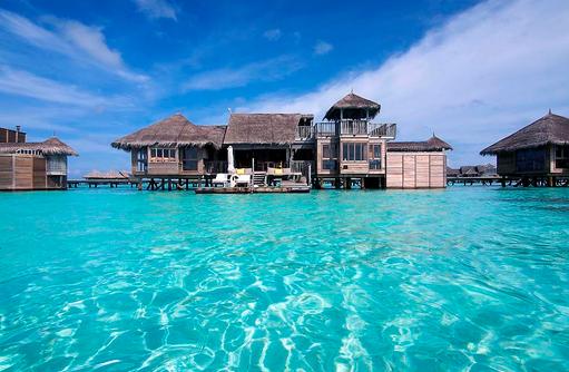 Villa Suite, Frontansicht, Gili Lankanfushi, Maldives