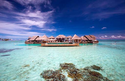 Aussenansicht Private Reserve, Gili Lankanfushi, Maldives