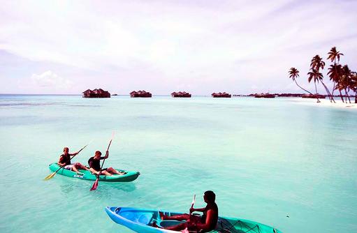 Kayakfahren, Wassersport, Gili Lankanfushi, Maldives