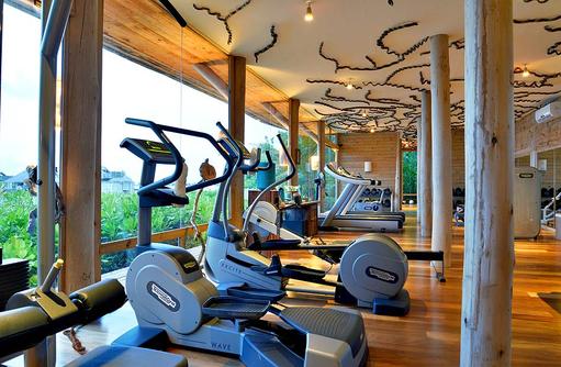 Fitness Center, Gili Lankanfushi, Maldives
