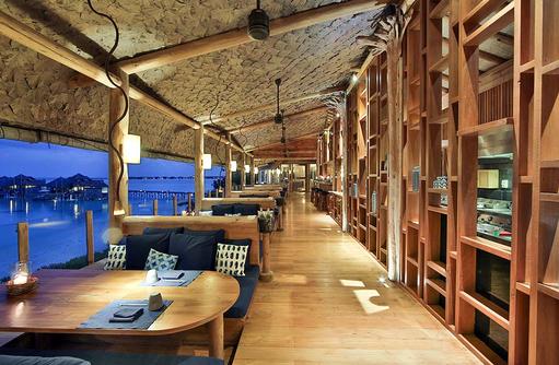 By the Sea Restaurant, Sofaecke, Gili Lankanfushi, Maldives