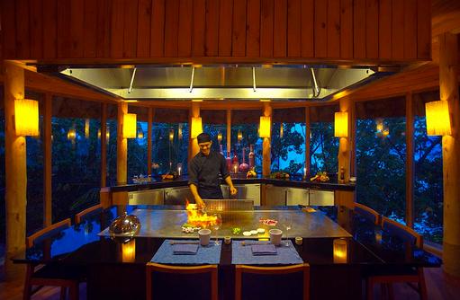 By The Sea Restaurant, Teppanyaki Room, By The Sea Teppanyaki Room