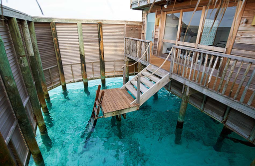 Family Villa, Water Garten, Meerzugang, Gili Lankanfushi, Maldives