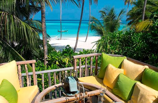 Destination Dining, Romantischer Lunch, Gili Lankanfushi, Maldives