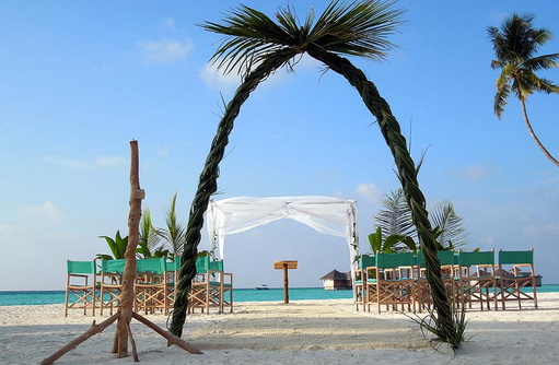 Strandhochzeit, Heiraten auf den Malediven, Gili Lankanfushi, Maldives