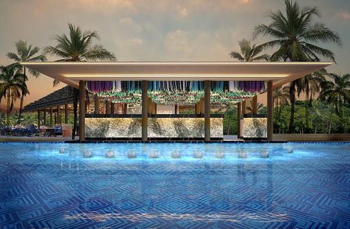 Poolbar, Hard Rock Hotel Maldives