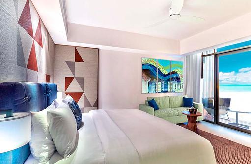 Silver Beach Studio, Hard Rock Hotel Maldives