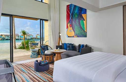 Family Room, Hard Rock Hotel Maldives