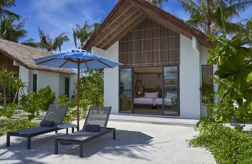 Golden Beach Room, Hard Rock Hotel Maldives