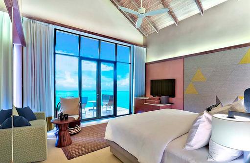 Platinum Overwater Villa, Hard Rock Hotel Maldives