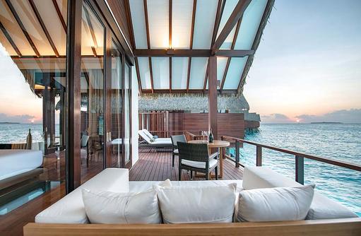 Terrasse, Ocean Suites, Heritance Aarah