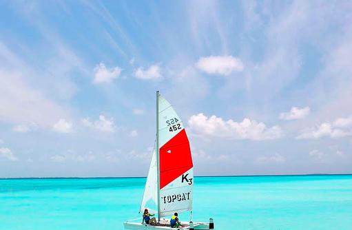 Katamaransegeln, Hideaway Beach Resort & SPA, Maldives