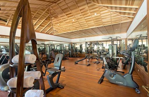 Fitnesscenter mit Sportgeräten, Hideaway Beach Resort & SPA, Maldives