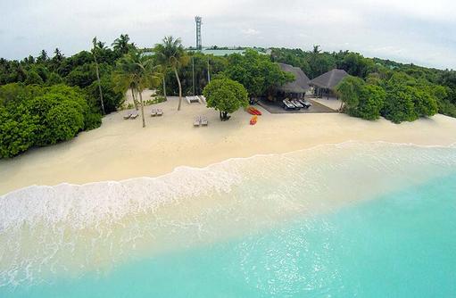Wassersport-Center am Strand, Hideaway Beach Resort & SPA, Maldives