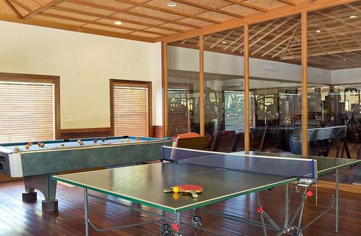 Tischtennisplatte, Hideaway Beach Resort & SPA, Maldives